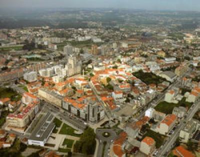 Vista aérea de S. João da Madeira